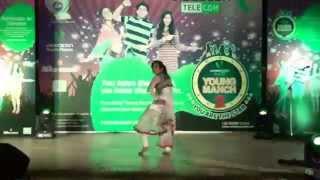 videocon telecom young manch 2 city finale ambala solo dance