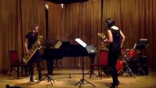 Ákos Zarándy: Double sAx- Duo Saxophistique