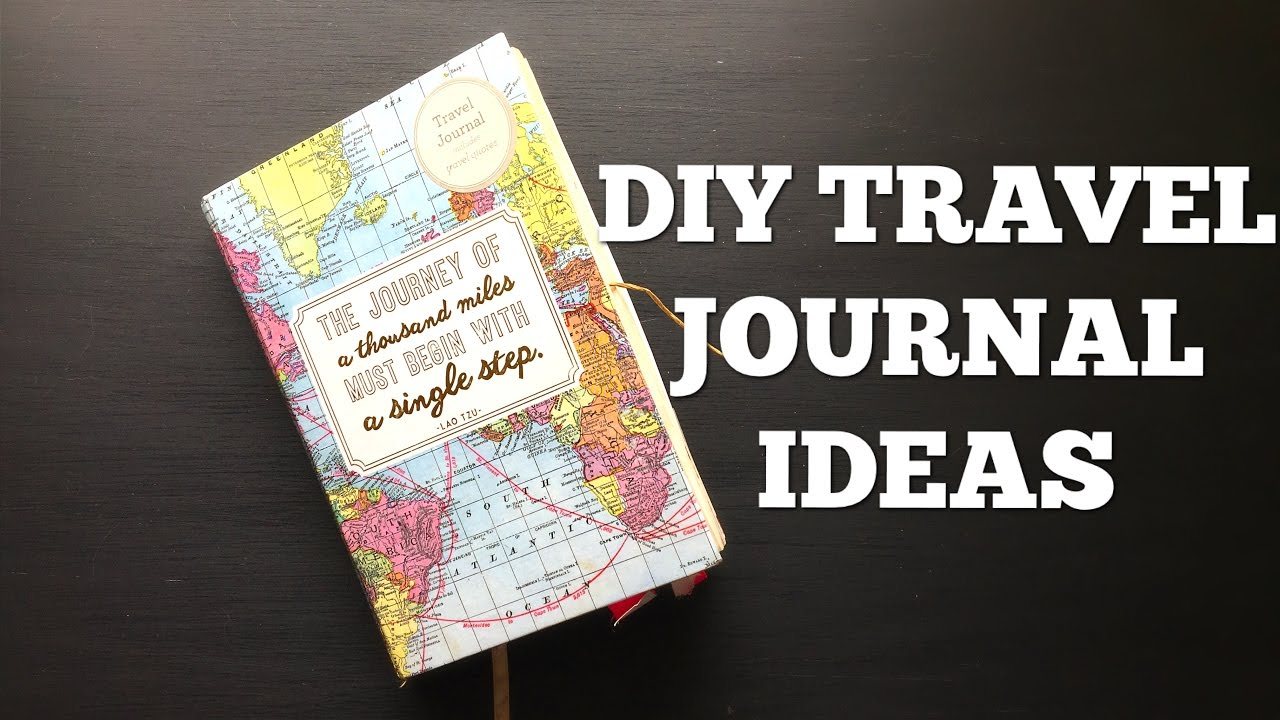 Diy Travel Journal Ideas Youtube