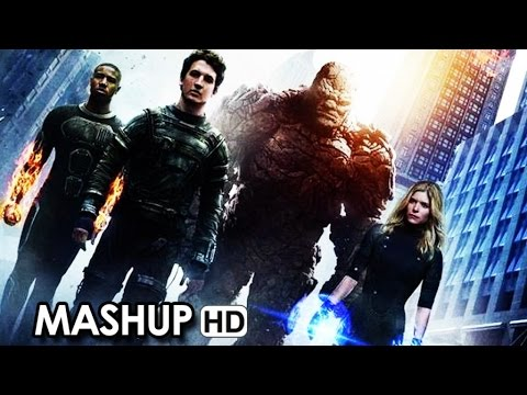 Fantastic Four 'Get to Know the Characters' - Old vs New Mashup (2015) HD