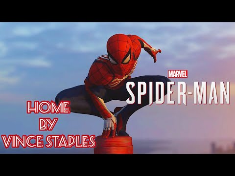 Marvel's Spider-Man (PS4) With Home By Vince Staples | Spider-Man PS4 Gameplay