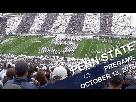 Penn State Blue Band Pregame show   Oct  13, 2018