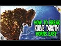 HOW TO BREAK KULVE TAROTHS HORNS! EVERYTHING YOU NEED TO KNOW! Monster Hunter World