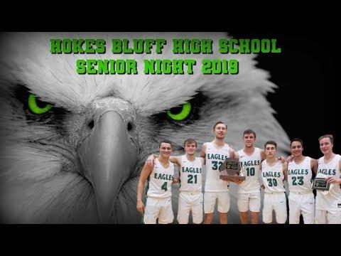 Hokes Bluff High School Senior Night 2019