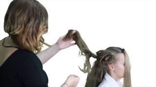 Стилист на дому. Причёска для новогоднего корпоратива(Мария Казаченко покажет, как сделать причёску к новогоднему корпоративу. Видео телеканала