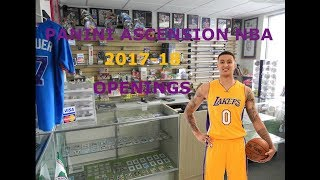 NBA Panini Ascension 2017-18 Packs Opening | Kuzma Kuzcontrol!