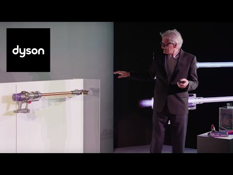 James Dyson Unveils The Dyson Cyclone V10 Cord-free Vacuum #DysonInvents