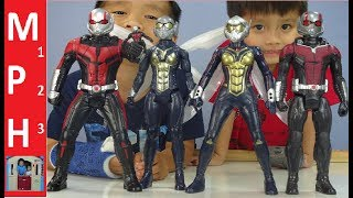 Marvel Ant-Man And The Wasp action figure toy review! MPH123