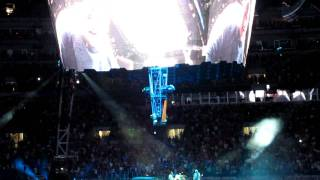 U2 360 tour Beautiful Day with Space Shuttle Commander Mark Kelly Baltimore Stadium 6/22/11 HD