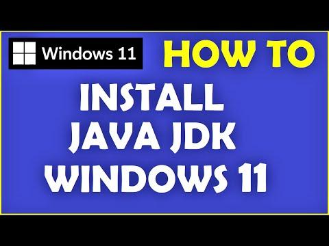 Windows 11 - How to Install Java on Windows 11