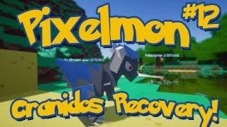 Pixelmon Minecraft Pokemon Mod Season 2 Lets Play! Episode 12 - Cranidos Recovery!