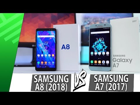 Samsung A8 (2018) VS Samsung A7 (2017) | Enfrentamiento | Review | Unboxing