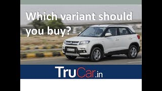 Maruti VITARA BREZZA Variant Explain in Hindi LDi, VDi, ZDi, ZDi plus हिंदी मे | Trucar
