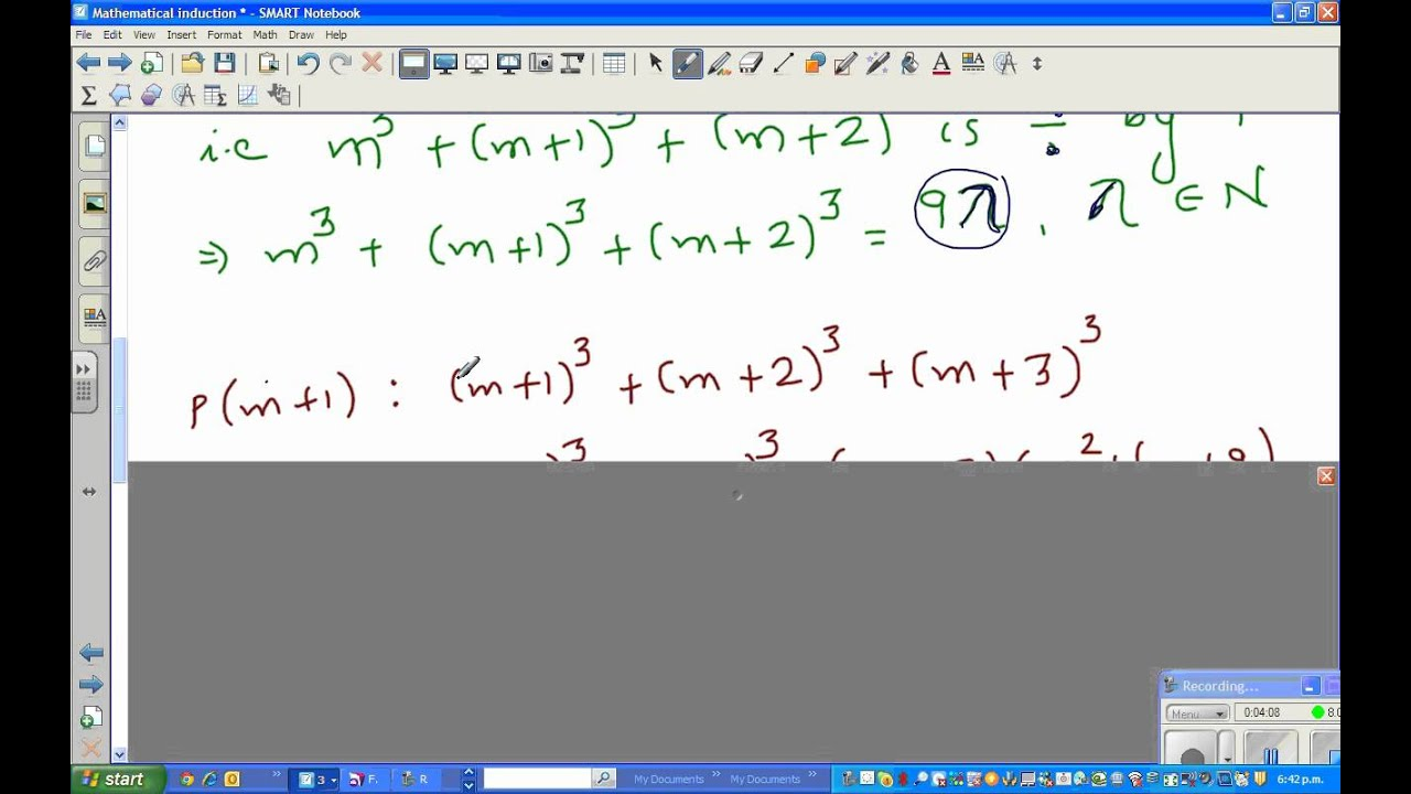 Proof That The Sum Of Cubes Of Three Natural Numbers Is