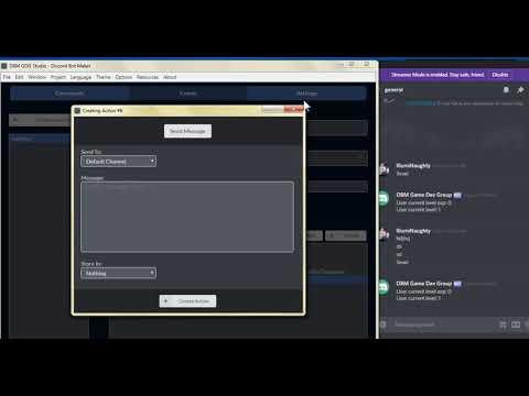 DBM GDG LevelUp System (Discord Bot Maker Games Dev Group)