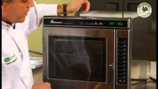 Amana Microwave Cooking Rice Training Video
