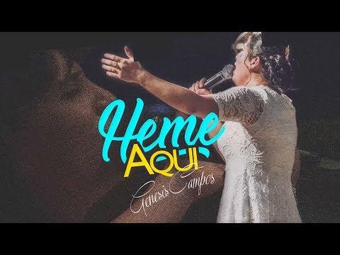 """Heme Aqui"" Live Oficial  Salmista & Autora Genesis Campos Sencillo"