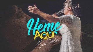"""""""Heme Aqui"""" Live Oficial  Salmista & Autora Genesis Campos S..."""