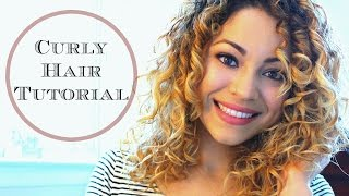 My Curly Hair Tutorial (Styling Demo)