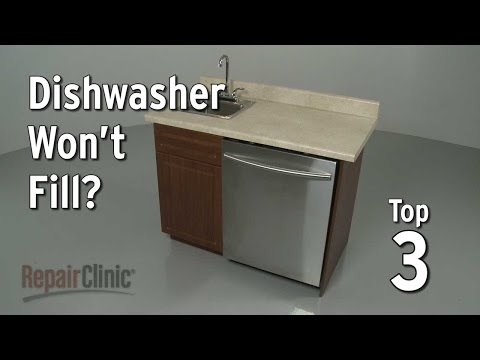 Top 3 Reasons Dishwasher Won't Fill with Water?