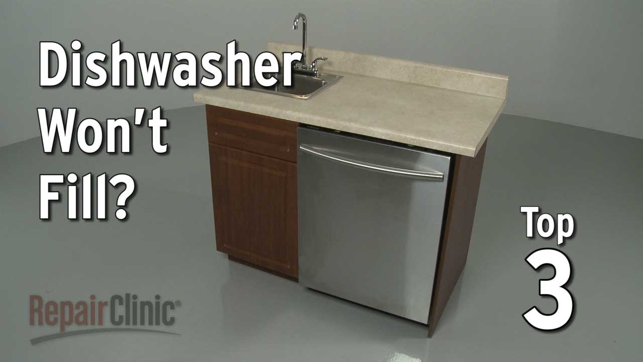 Dishwasher Won T Fill With Water Troubleshooting