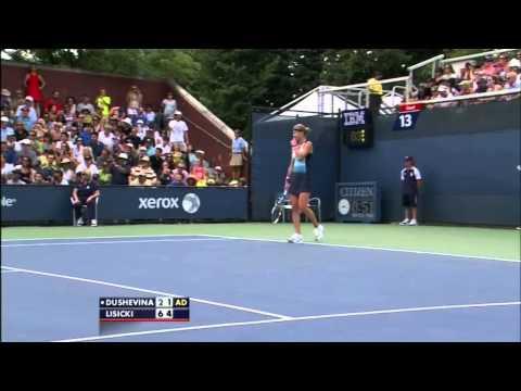 Squirrel Interrupts Sabine Lisicki Match At 2013 US Open