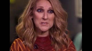 Celine Dion on CBS Sunday Morning, October 9, 2016