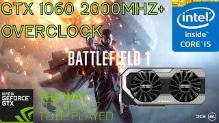 i5-2500 + GTX 1060 6gb  Battlefield 1 Multiplayer Gameplay Ultra 1080p