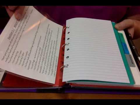 My War Binder Prayer Journal Setup Youtube