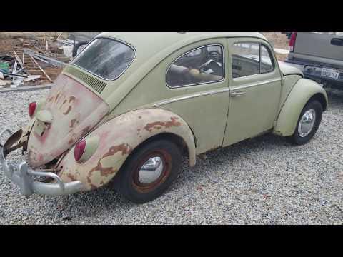 VW patina and rat patina explained walking around this VW Bug