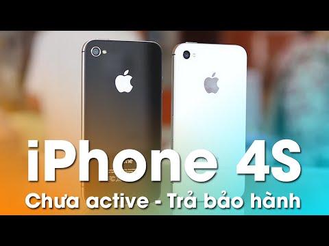 iPhone 4S Mới chưa Kích Hoạt đổ bộ - Hút khách tầm giá 3 đến 4 triệu