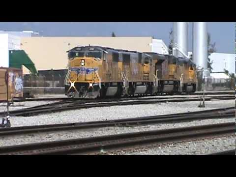 The Guadalupe Local Power gets set for Switching in Van Nuys. 5-21-12..
