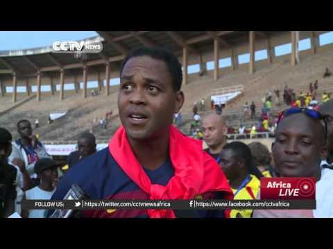 Uganda's All Star beat Barcelona Legends 5-3