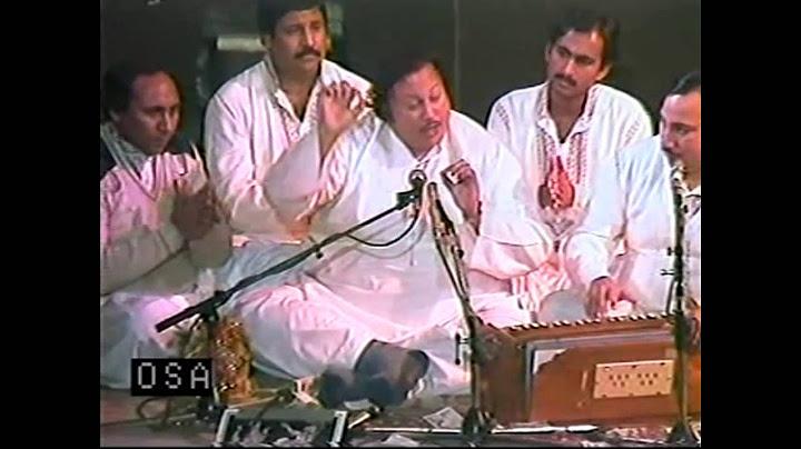 oh disdi kulli yaar di punjabi geet  ustad nusrat fateh ali khan  osa official hd video