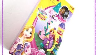 PLAY-DOH - DISNEY PRINCESS - RAPUNZEL'S GARDEN TOWER PLAYSET  - TOY REVIEW