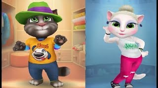 My Talking Tom and Talking Angela Gameplay Part 23