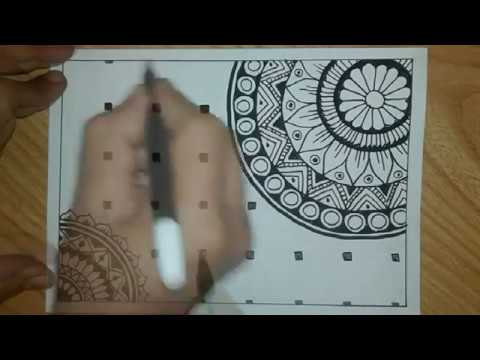 Download Drawing Zentangle Quick and Fast