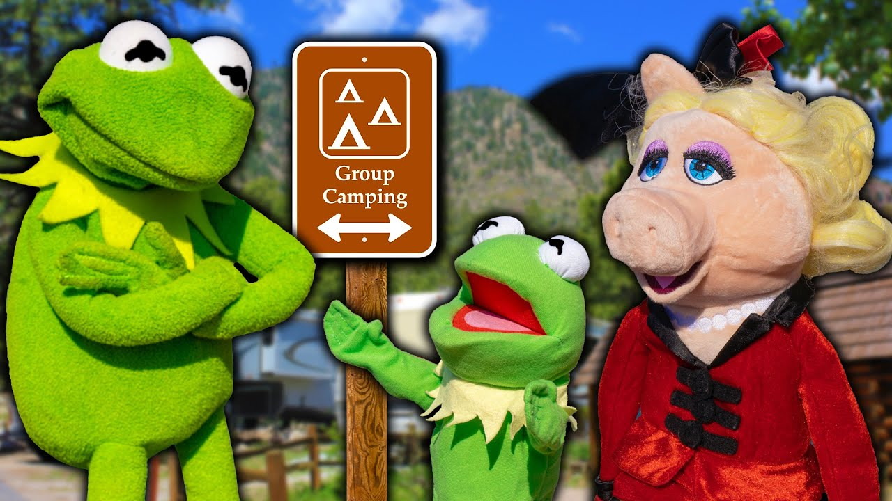 Kermit The Frog's Father's Day Camping Trip!