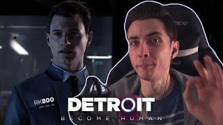 ХЕСУС - СМЕШНЫЕ МОМЕНТЫ в Detroit: Become Human | JesusAVGN