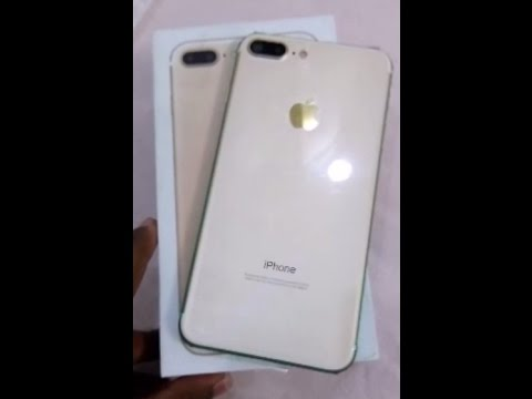 iPhone 7 PLUS 128GB GOLD ***AAA*** usa clone 1st copy in india @rs-14000/-