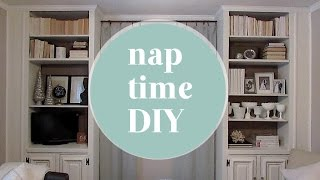 Nap Time Diy: Updated Built-ins