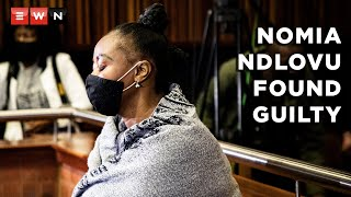 Sitting in the Palmridge Magistrates court, Johannesburg High Court Judge Ramarumo Monama  found former police officer Nomia Rosemary Ndlovu  guilty on all six counts of murder on 22 October 2021. She was also convicted of attempted murder, defeating the ends of justice and defrauding insurance companies of nearly R1.4 million.