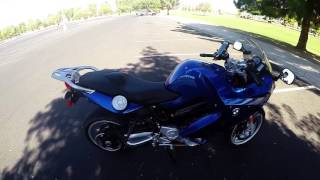 Mike & Kiki's Adventures Review of 2007 bmw f800st