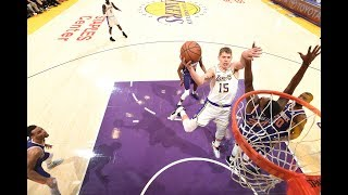 Lakers Bench Goes Wild For Moritz Wagner's First NBA Points