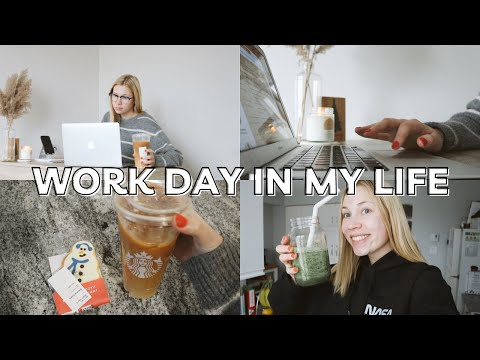 WORK VLOG | job update, how i budget on payday + typical 9-5 work day