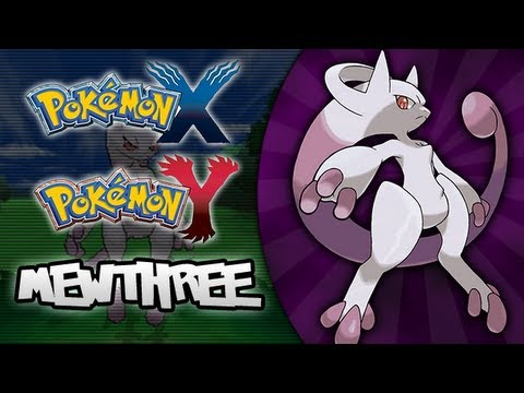 Pokemon X and Y - NEW POKEMON CONFIRMED! (UPDATE) NEW MEWTWO FORM ...
