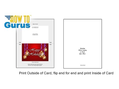 How To Templates for Making Printable Cards from Adobe Photoshop and Photoshop Elements Projects