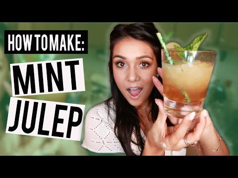 How to Make: MINT JULEP - #ThirstyThursday