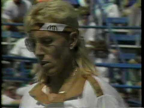 1989 US Open SF Navratilova vs Garrison 2 of 2