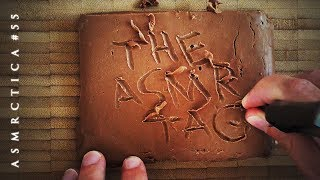The ASMR Tag | 25 Questions + Nougat Carving
